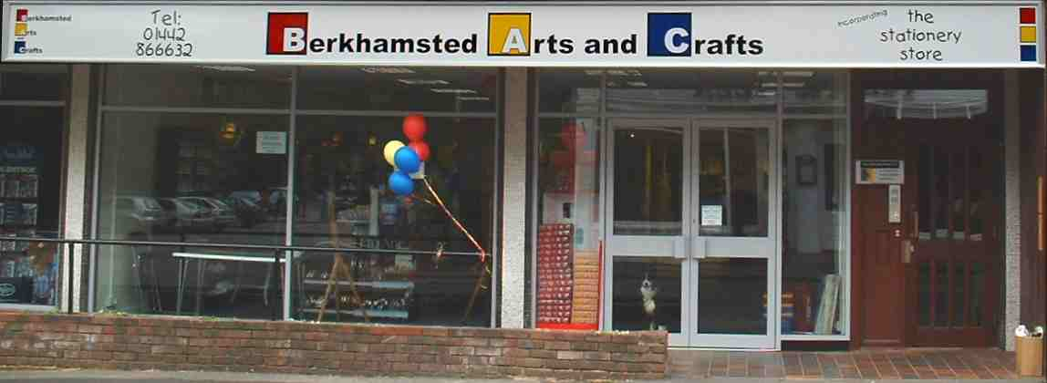 New Improved Berkhamsted Arts and Crafts Shop [Picture]