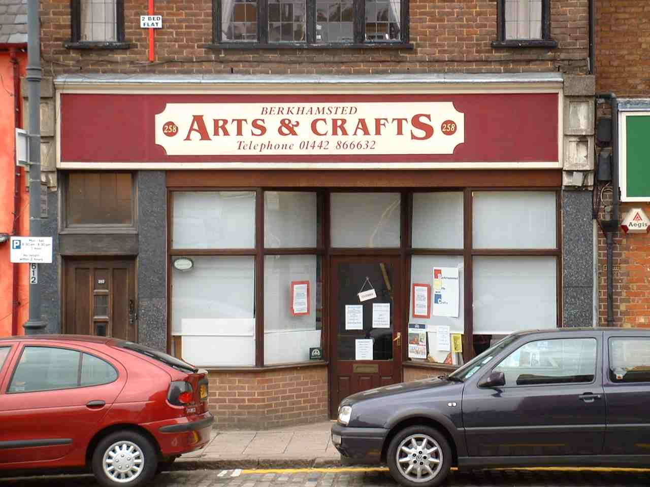 Old Berkhamsted Arts and Craft Shop